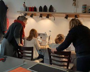 Atelier de couture DUOS adulte/enfant, atelier de couture pour les vacances à l'occasion de la fête des grands mères
