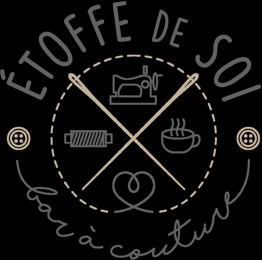 Logo ETOFFE DE SOI - Cours de couture à Angers, bar à couture